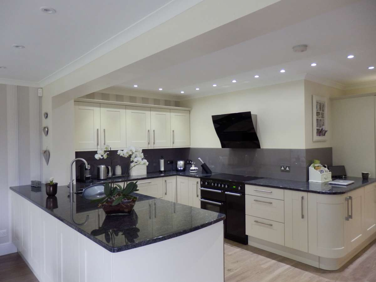 Grey Stone Kitchen Worktops : Granite Worktops, Marble Worktops, Quartz Steel Grey Granite Worktops