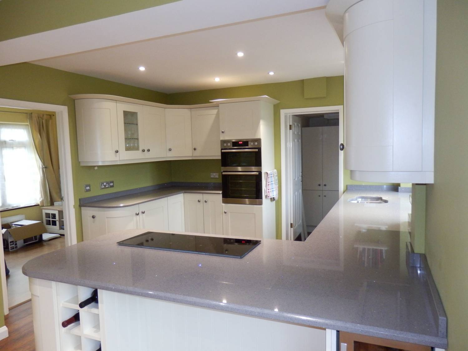Grey Stone Kitchen Worktops : Grey Granite Worktops Grey Kitchen Worktops