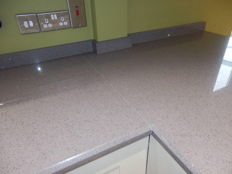 Grey Stone Kitchen Worktops : Granite Worktops, Marble Worktops, Quartz Technistone Starlight Grey ...