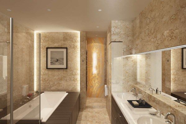 Marble Bathroom Home Design Ideas and Pictures